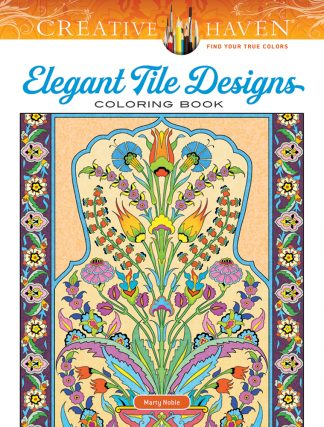 Creative Haven Elegant Tile Designs Coloring Book maintemp