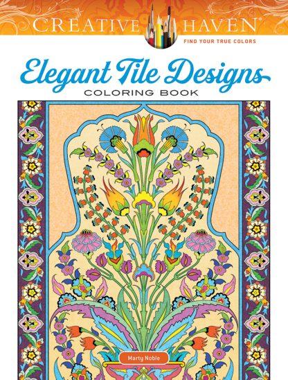 Creative Haven Elegant Tile Designs Coloring Book maintemp
