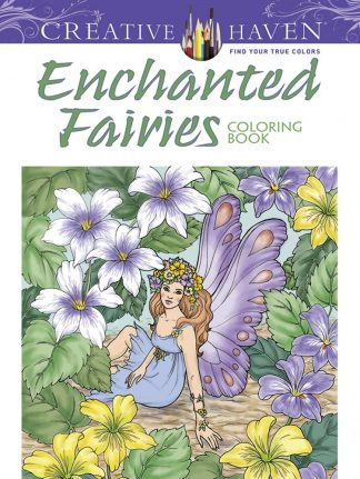 Creative Haven Enchanted Fairies Coloring Book maintemp