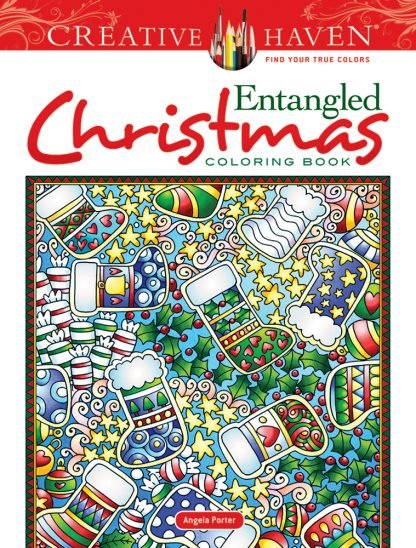 Creative Haven Entangled Christmas Coloring Book maintemp