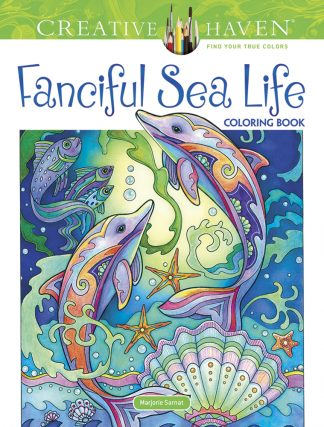 Creative Haven Fanciful Sea Life Coloring Book Main temp