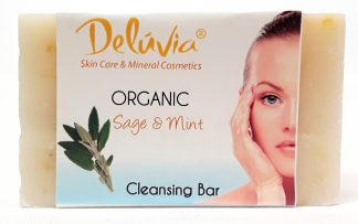 Deluvia Sage and Mint Soap Bar front view main