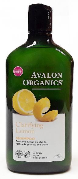 Avalon Organics Claryfing Lemon Shampoo, 11oz. main image