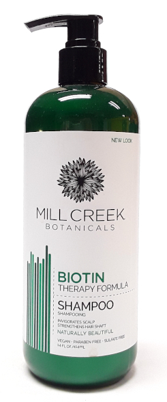Mill Creek Botanicals Biotin Shampoo 14oz main product image