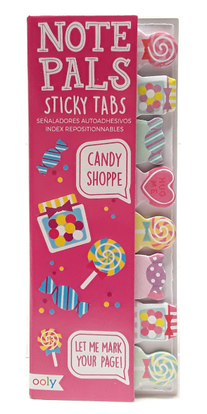 Ooly Note Pals Sticky Tabs Candy Shoppe main