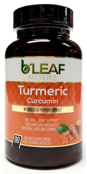 B'Leaf Nature Turmeric Curcumin main