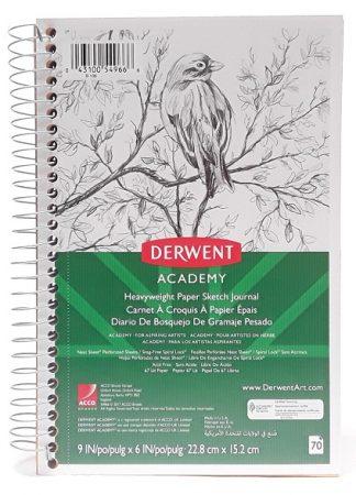 Derwent Academy™ Wirebound Sketch Diary, 9 x 6, 70CT main