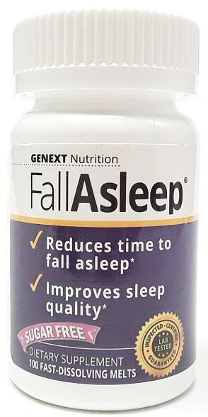 Genext Nutrition Fall Asleep melts 100 tablets main