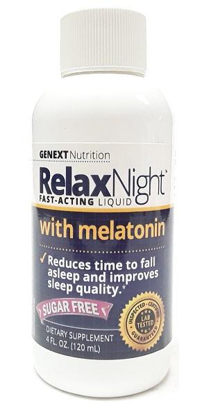 Genext Nutrition Relax Night with Melatonin main