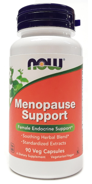 NOW Menopause Support 90 Veg Capsules main
