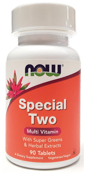 NOW Special Two Multi Vitamin 90 Veg Tablets main