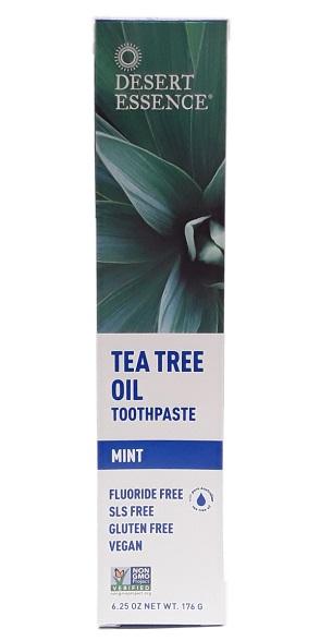 Desert Essence Tea Tree Oil Toothpaste Mint 6oz main