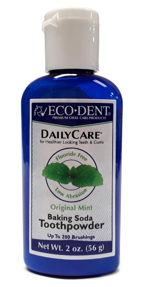 EcoDent Dailycare Toothpowder Mint 2oz main