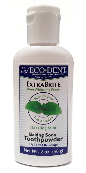 EcoDent ExtraBrite Baking Soda ToothPowder 2oz main