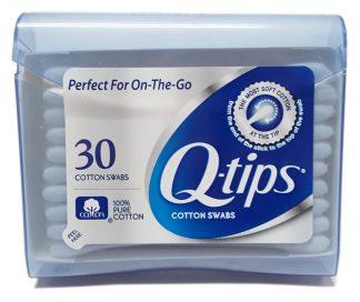 Q Tips Cotton Swabs 30 Count (1)