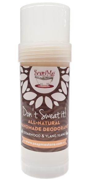 SoapMe with Nature Natural Deodorant Cedarwood and Ylang Ylang Stick 3.2oz main