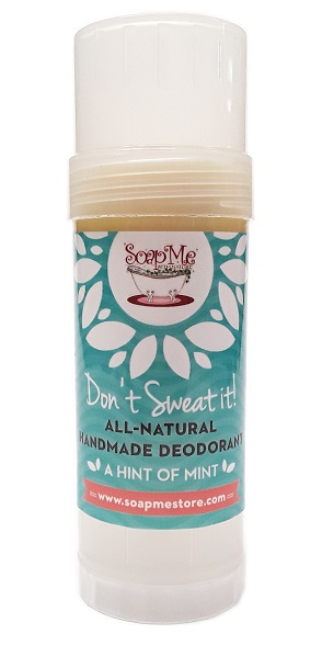 SoapMe with Nature Natural Deodorant Hint of Mint Stick 3 main