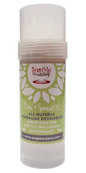 SoapMe with Nature Natural Deodorant LemonGrass Stick 3 main