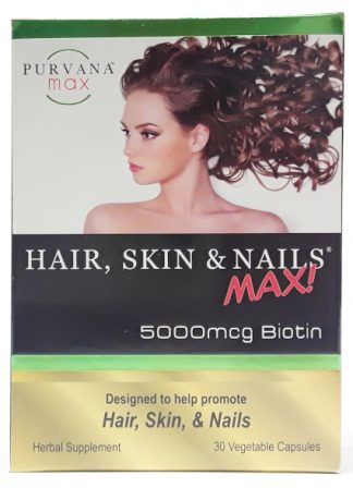 Wellgenix Purvana MAX Hair Skin & Nails 30ct (4)