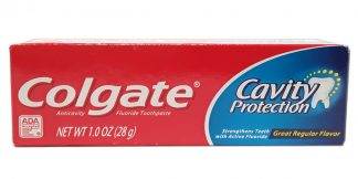 Colgate Cavity Protection Toothpaste 1.0oz (1)