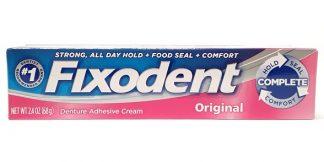 Fixodent Original Denture Adhesive Cream 2.4oz main