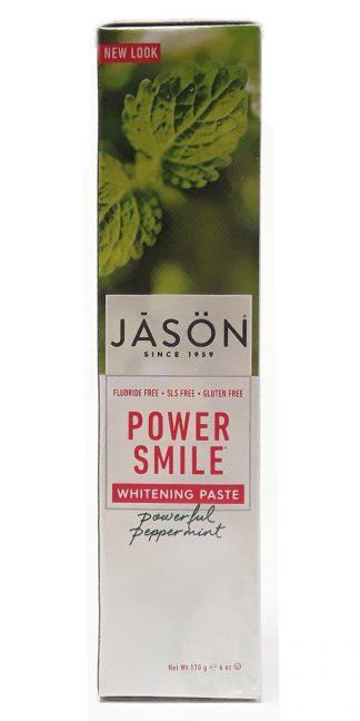 Jason Power Smile Whitening Paste Powerful Peppermint 6oz (1)