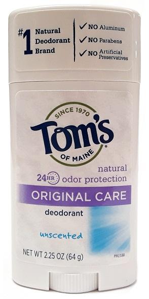 Tom's of Maine Original Care Natural Deodorant Unscented 2.25oz main