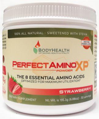 BodyHealth PerfectAminoXP Strawberry Powder 6oz 30 Servings main