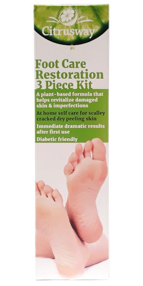 Citrusway Foot Care Restoration 3 Piece Kit main