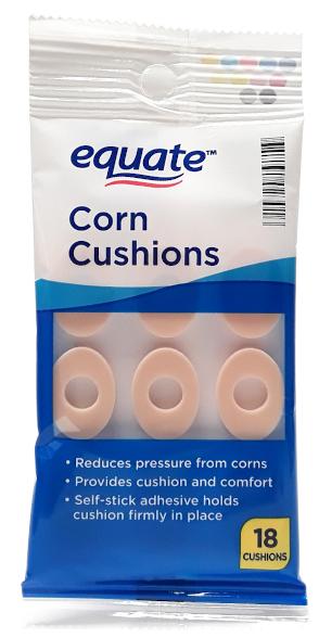 Equate Corn Cushions 18 Count main