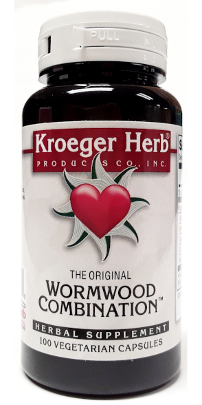 Kroeger Herb Products Wormwood Combination™ 100 Capsules main