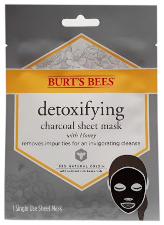 Burt's Bees Detoxifying Charcoal Sheet Mask With Honey main