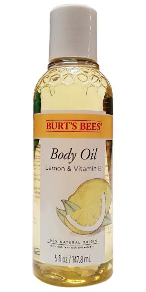Burt's Bees Body Oil With Lemon And Vitamin E Main