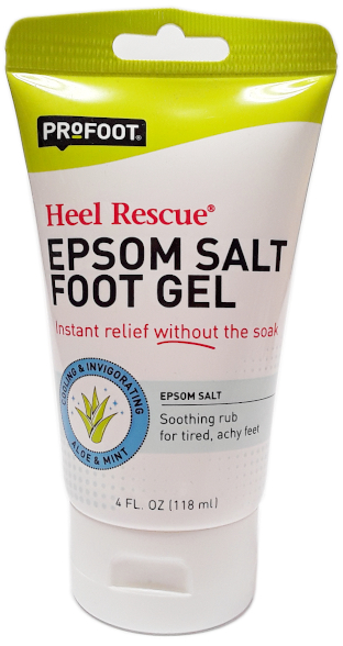 ProFoot Heel Rescue Epsom Salt Foot Gel 4 fl oz. main