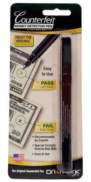 Drimark Counterfeit Detector Pen 1 pack main