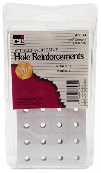 CLI 544 Self Adhesive Hole Reinforcements main