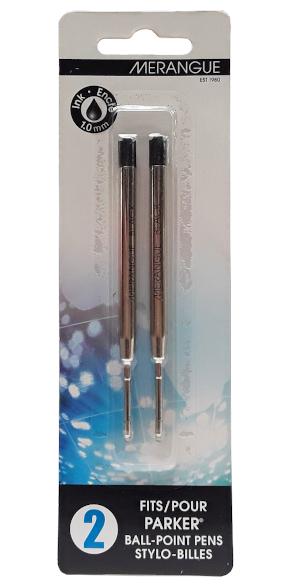 Merangue Parker Pen Refill Black Ink 1.0mm main