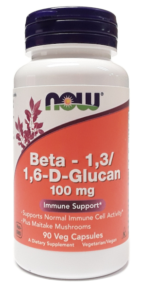 NOW Beta – 1,31,6-D-Glucan 100mg 90 Veg Capsules main