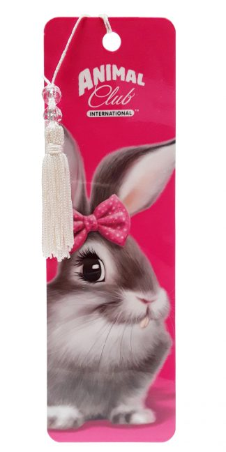 Antioch Animal Club Bunny Bookmark