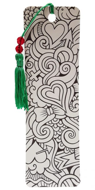 Antioch Heart Coloring Bookmark