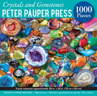 Peter Pauper Crystals and Gemstones Jigsaw Puzzle (1)